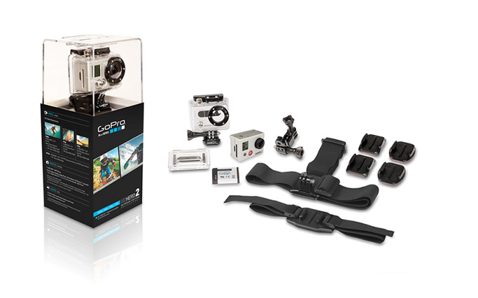 GoPro HD HERO2 Outdoor Edition fra Natur og Fritid