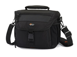Lowepro skulderbager til fotoutstyr og PC'er
