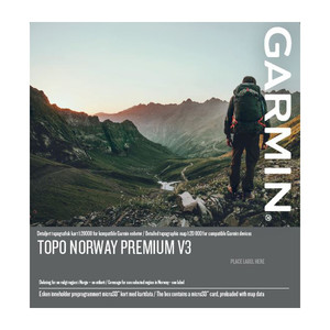 Topo Adventure - Mapsource CD med 1:50 000 topografisk vektor kart for Garmin GPS