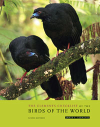 The Clements Checklist of the Birds of the World - 6 utg.