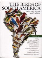 The Birds of South America vol. 2.