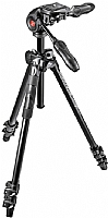 Manfrotto Stativkit 290 LIGHT D3Q2-3-Veishode Alu