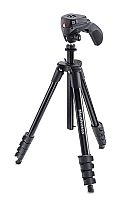 Manfrotto Compact Action Tripod Svart