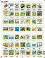Puslespill - Zoo Puzzle 3