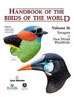 Handbook of the Birds of the World, vol. 16.