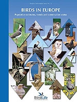 Birds in Europe - Population Estimates, Trends and Conservation Status