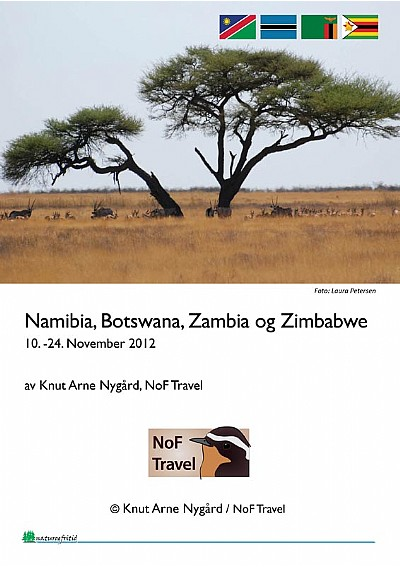 NoF Travel turrapport - Namibia 2012