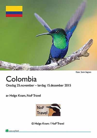 NoF Travel turrapport - Colombia 2016