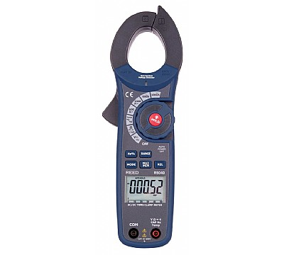 REED R5040 1000A AC/DC Clamp Meter with Temperature