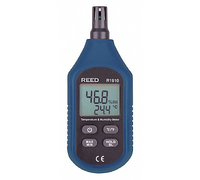 REED R1910 Temperature and Humidity Meter, Compact Series