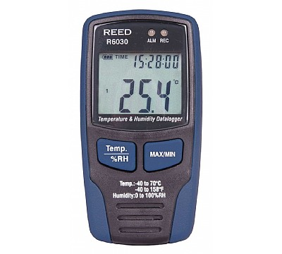 REED R6030 Temperature and Humidity Datalogger