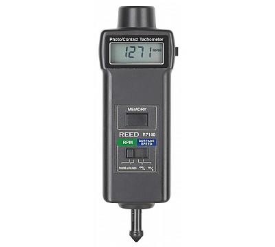 REED R7140 Combination Contact / Photo Tachometer