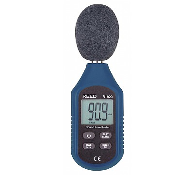 REED R1920 Sound Level Meter, Compact Series